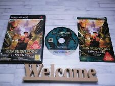 (〃 ̄∇) GUN SURVIVOR 3 Used PlayStation 2 PS2 Japan import Japanese Game CAPCOM