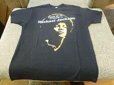 1 Michael Jackson T-shirt THIS IS IT 50 LONDON 02 Vinyl Coating Print Size XL