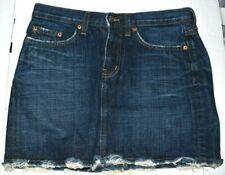 Red Engine Co. Distressed Denim Mini Skirt Size 28