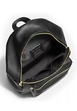 New Coach F38288 Charlie Backpack In Pebble Leather Black NWT