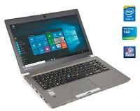 "Toshiba Tecra Z40 i5-5300u 16GB RAM 512GB SSD 14"" 1600x900 HDMI USB 3.0 HD Webca"