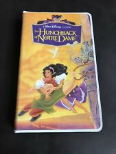 Disney Hunchback Of Notre dame Vintage VHS home Video Retro Style Notebook