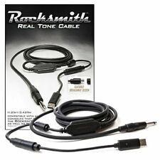 Ubisoft Rocksmith Real Tone Cable [Accessory, PS3 PS4, Xbox One 360, PC & MAC]