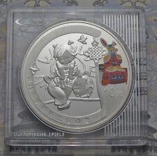 10 Yuan 2008 - China - Olympia in Peking - Bockspringen 1 oz Ag