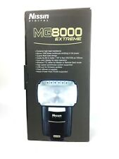 Nissin Extreme MG8000 Extreme Shoe Mount Flash for  Nikon