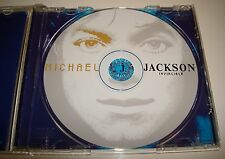 MICHAEL JACKSON INVINCIBLE PICTURE CD AA-MJ ALBUM NO PROMO