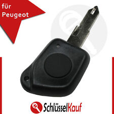 Peugeot 1 Taste Autoschlüssel Funk Fernbedienung 106 206 Cabrio 306 406 607 Neu