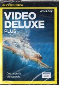 MAGIX - Video deluxe Plus - Das perfekte Videostudio - Software - Neu  / OVP