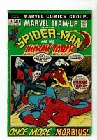 Marvel Team-Up #3, VG  4.0, (Qualified) 3rd Appearance Morbius; Spider-Man