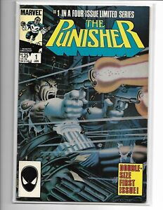 PUNISHER Mini Series 5 Issue Comic Book Set Issues Very Fine.to Near Mint RARE!