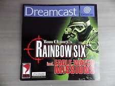 Notice seul Tom Clancy's Rainbow Six incl Eagle livret instruction manuel FR