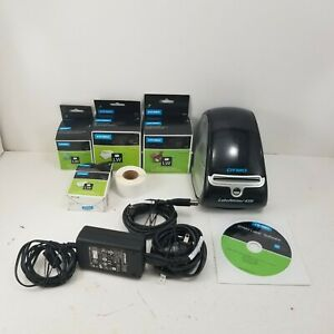DYMO LabelWriter 450 Turbo Label Thermal Printer Model 1750110 w/ Extra Labels