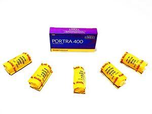 5x Rolls KODAK PORTRA 400 ULTRA FRESH COLOR NEG--120 MED FORMAT--expiry: 09/2022
