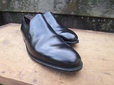 CROCKETT & JONES HAND GRADE LOAFERS – BLACK – UK 11 - SUPERB CONDITION