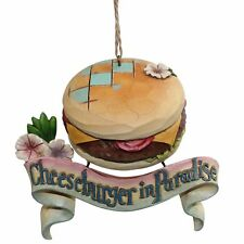Jim Shore Margaritaville 4059125 Hanging Ornament Cheeseburger In Paradise