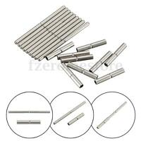 New 10Pcs Tube and Pins For Watch Band Strap Watch Tool Stainless Steel 8mm-27mm