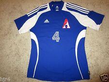 Arcadia High School Titans AHS #4 Soccer Game Used addias Jersey LG L