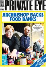 PRIVATE EYE 1381 - 12 - 19 Dec 2014 - Justin Welby - ARCHBISHOP BACKS FOOD BANKS