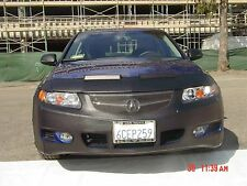Colgan Front End Mask Bra 2pc. Fits Acura TSX 06 07 08 W/Lic. Plate