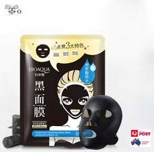 Black Mask Moisture Face Mask Blackhead Cleaner Hyaluronic Acid