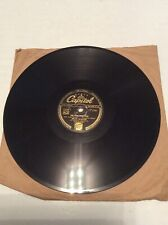 "Dean Martin Never Before / Sailor's Polka Capitol 10"" 78 RPM CL.13723 UK G+G+"