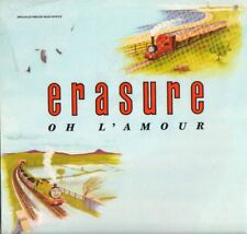 "Erasure(12"" Vinyl)Oh L'Amour-Mute-Erasure L'Amour-UK-1986-Ex+/M"