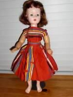 """American Character ~ Vintage 1950s Vinyl HP Sweet Sue Walker Doll 19"""""""