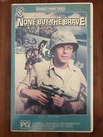 NONE BUT THE BRAVE FRANK SINATRA CLINT WALKER   NOT A CHINESE COPY PAL VHS VIDEO