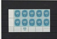 united nations1958 mint never hinged  stamps block  ref 13312