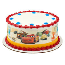Cars Movie Edible Cake Border Decoration - Set of 3 Strips