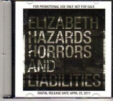 (DH396) Elizabeth, Hazards Horros & Liabilities - 2011 DJ CD