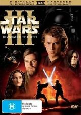 STAR WARS III : REVENGE OF THE SITH - Ewan McGregor (DVD, 2005, R4, Free Post)