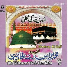 OWAIS RAZA QADRI - MADINAY KI GALI - NEW CD - VOL 13 - FREE UK POST