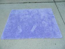 XHILARATION Purple Shag Throw/Accent Rug 4' x 5.5' ~ NWOT