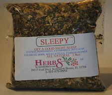 Herbs by Merlin SLEEPY TEA- Sleep Aid Organic leaf tea 2.8 oz