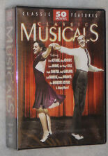 Classic Musicals - 50 Movies - Fred Astaire, Bing Crosby, and more - DVD Box Set