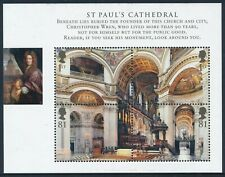 2008 GB ST. PAUL'S CATHEDRAL MINI SHEET FINE MINT MNH SGMS2847