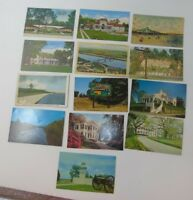 Vintage Postcards MISSISSIPPI Lot of 13
