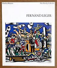 Fernand Leger  La Grande Parade Vintage Original Pasadena Museum Pub Lithograph
