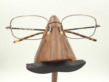 Vintage Oliver Peoples OP-613 Tortoise Bronze Metal Rectangle Sunglasses Frames