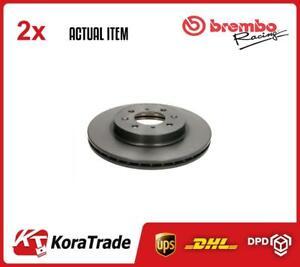 X2 PCS BRAKE DISC SET 09550911 BREMBO I