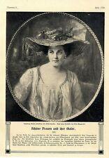 Ingeborg Bianca Freifrau von Oldershausen Gattin des Majors und Eskadronchef1907