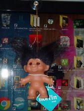 """Troll Puppe 3 """" Dam / Norfin Einfach Rider Schwarz Haar Stift It auf Ihr Rechner"""