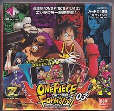 ARcarddass One Piece Formation Part 3 Sealed Box Japanese