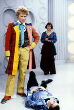 Colin Baker, Kevin McNally & Nicola Bryant UNSIGNED photo - H8047 - Doctor Who