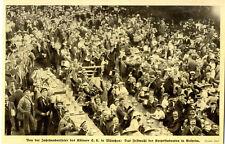 Jahrhundertfeier Kösener S.C. Festmahl der Korpsstudenten in Kelheim von 1913