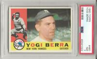 1960 TOPPS #480 YOGI BERRA, PSA 7 NM, HOF, NEW YORK YANKEES,  L@@K !