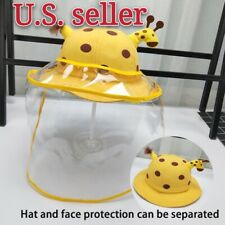 Babies Face Shield Anti-Spitting Protection Hat Fast Shipping