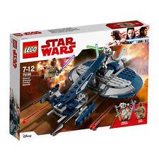 75199 Lego Star Wars General Grievous's Speeder de combate 157 piezas edad 7+ nuevo 2018