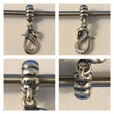 PANDORA CHINESE YEAR OF THE SNAKE ZODIAC CHARM REF 791100 S925 ALE DISCONTINUED